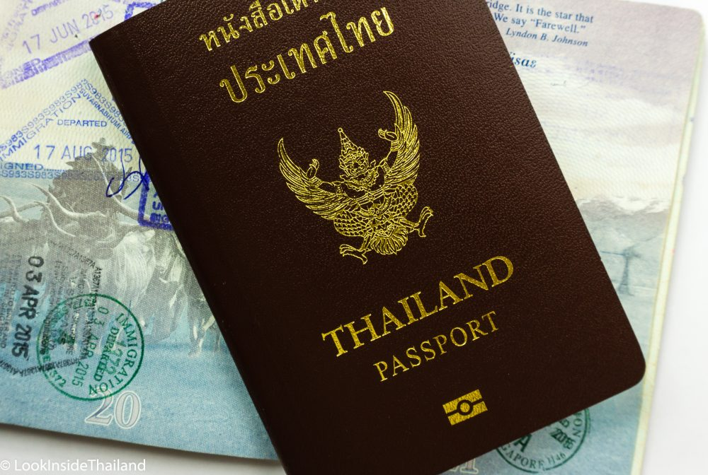 Thailand passport with American passport Thailand Visa information